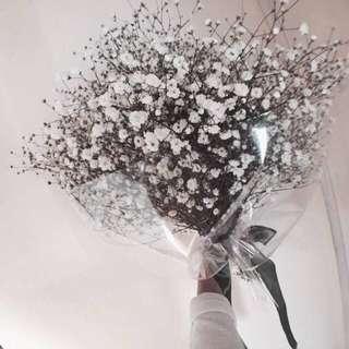 Baby Breaths Bouquet / flower bouquet