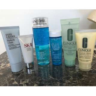 A Lot of Estee Lauder, Lancome, SkII & Clinique Skincare Items - All Brand New