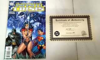 DC COMICS INFINITE CRISIS #1 JIM LEE COVER