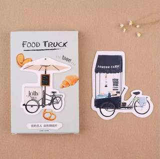 (PO) Food Truck Postcards/ Post Cards