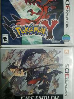 pokemon y and fire emblem