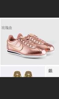 🚚 Nike阿甘鞋 玫瑰金