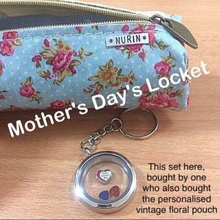 Mother's Day Floating Locket Keychain [gift idea uncle.anthony uncle anthony uac]  FOR MORE PICS & DETAILS, 👉 http://carousell.com/p/166099614