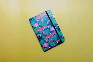 Flamingo binded journal