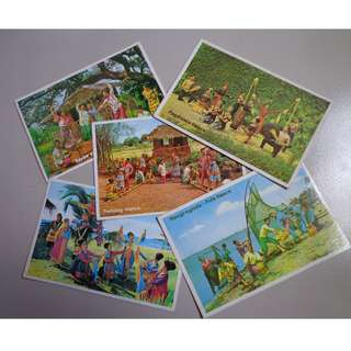 Philippine Post Cards from 1970s