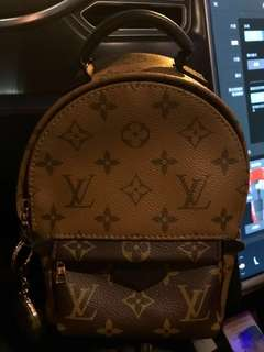 AUTH 真 有單 LOUIS VUITTON LV PALM SPRING BACKPACK REVERSE 背包 背囊 BAG 手袋 CHANEL HERMES BVLGARI CARTIER ROLEX