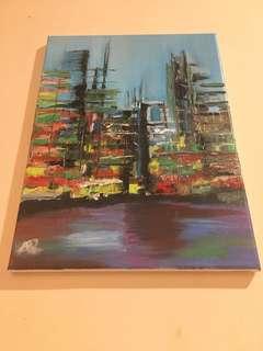 Oil Painting Frameless