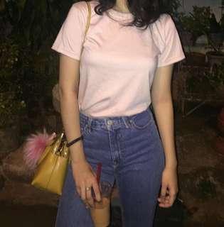 Nude pink shirt