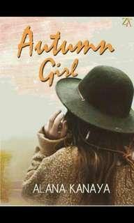Ebook : Autumn Girl - Alana Kanaya