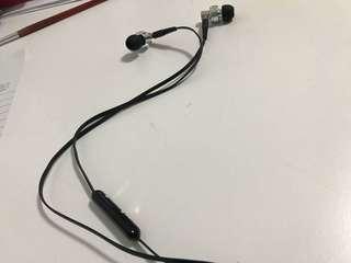 Ipipoo earphones (black/silver)