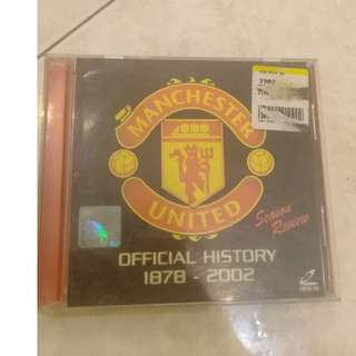 MANCHESTER UNITED OFFICIAL HISTORY 1878 -2002