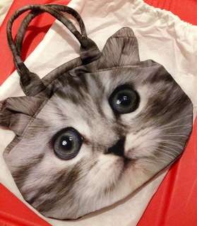 Kitten Tote bag by MOUSSE