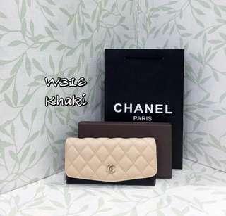Chanel Purse Khaki Color