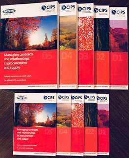 CIPS L4 DIPLOMA BOOKS (D1 to D5)