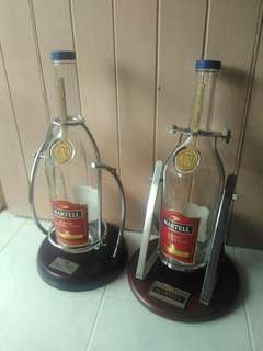 Martell empty bottle