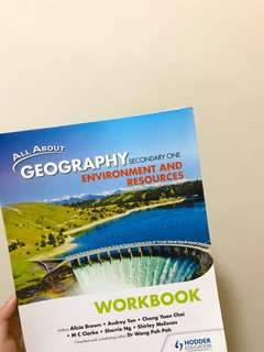 Secondary One Geography Workbook and Textbook