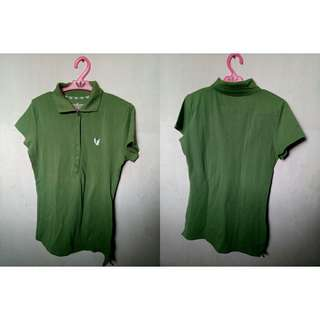 Green Poloshirt for Her (S-SM)