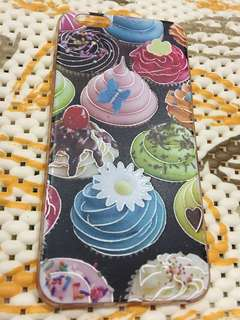 Casing Iphone 6 Plus - Softcase Emboss Cupcakes