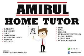 Amirul Home Tutor