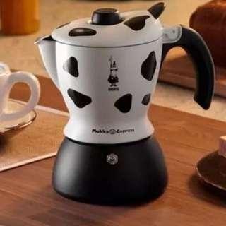 BIALETTI 奶牛 cappuccino/latte咖啡壺 意大利進口