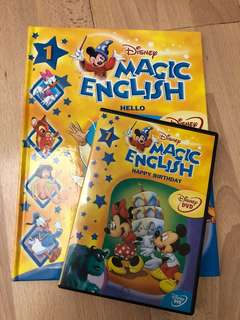 Magic English book and DVD (1-26)