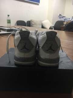 Air jordan 4 white cement kids