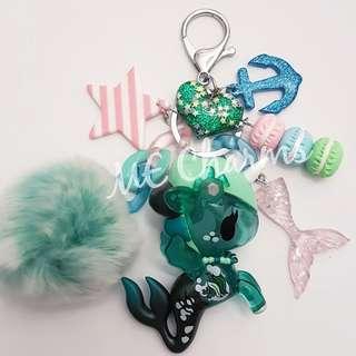 Tokidoki Mermicorno Series 2 Cerulean Bag Charms / Fobs