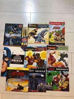 A bundle of superheroes books!
