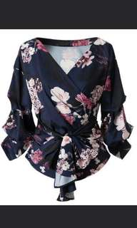 * BEST SELLER * Floral Kimono Style Top