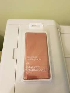 Samsung S9plus flip cover pink color