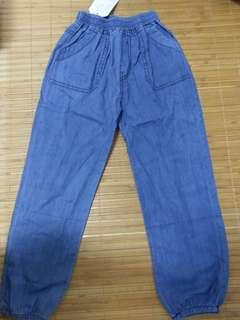 兒童薄款牛仔褲