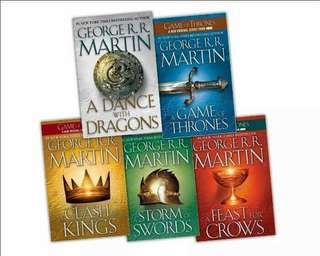 Game Of Thrones A Song of Ice and Fire 1 - 5 Ebook [ E - BOOK ]