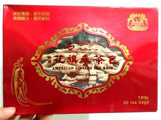 【SALE】天仁茗茶:美國花旗參茶包 (50 個) TenRen's Tea: American Ginseng Tea Bags (50 bags)