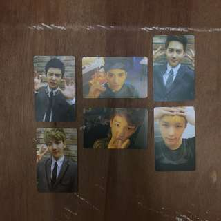 [CLEARANCE] EXO UNOFFICIAL PHOTOCARDS