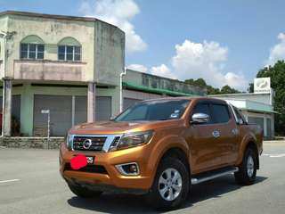 SAMBUNG BAYAR/CONTINUE LOAN  NISSAN NP 300 NAVARA MANUAL 4WD YEAR 2017 MONTHLY RM 1197 BALANCE 8 YEARS ROADTAX AUGUST 2018 LEATHER SEAT REVERSE CAMERA  DP KLIK wasap.my/60133524312/navara