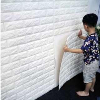 Bricks Foam Wallpaper