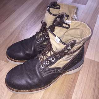 Visvim 7 Hole 73 Boots Folk
