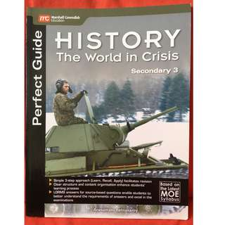 History. The World in Crisis Secondary 3. New and unused. Popular sells $15.50