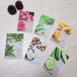 Authentic Assorted Nature Republic Mask Sheet