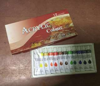 Acrylic Colour (12 Colour)