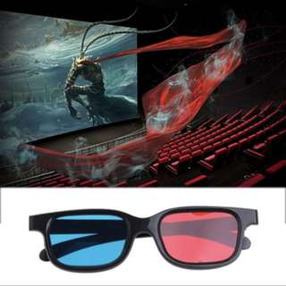 3D Glasses For TV, Computer And Laptop!