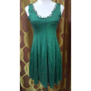 Preloved Sexy Emerald Green Dress