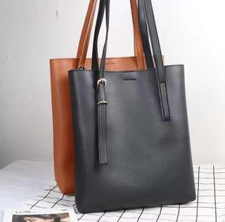 [INSTOCKS] Leather Tote Bag