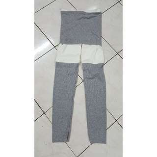 BN 2 pieces attached Skirt Legging