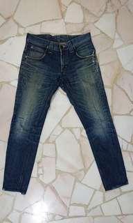 Lee Riders Black Stitch Jeans