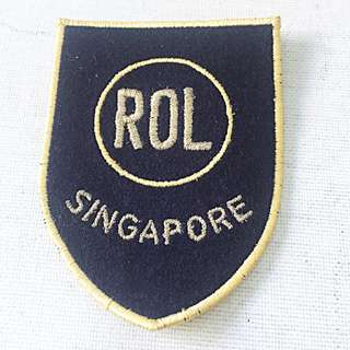 ROL Singapore Patch New Unused