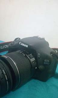 Camera canon eos 600D #SSUPAtma18