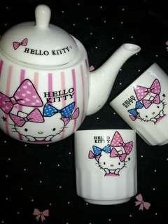 Tea set Hello Kitty