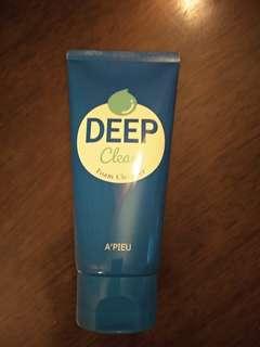 Apieu - Deep Clean Foam Cleanser