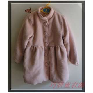 二手粉紅厚外套 13號